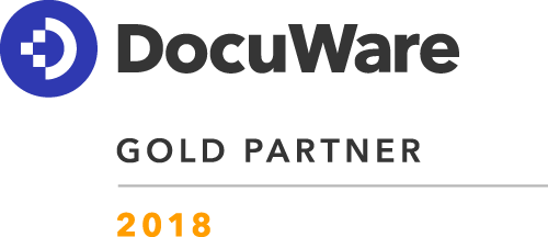 Saueracker Document Solutions ist DOCUWARE Gold Partner